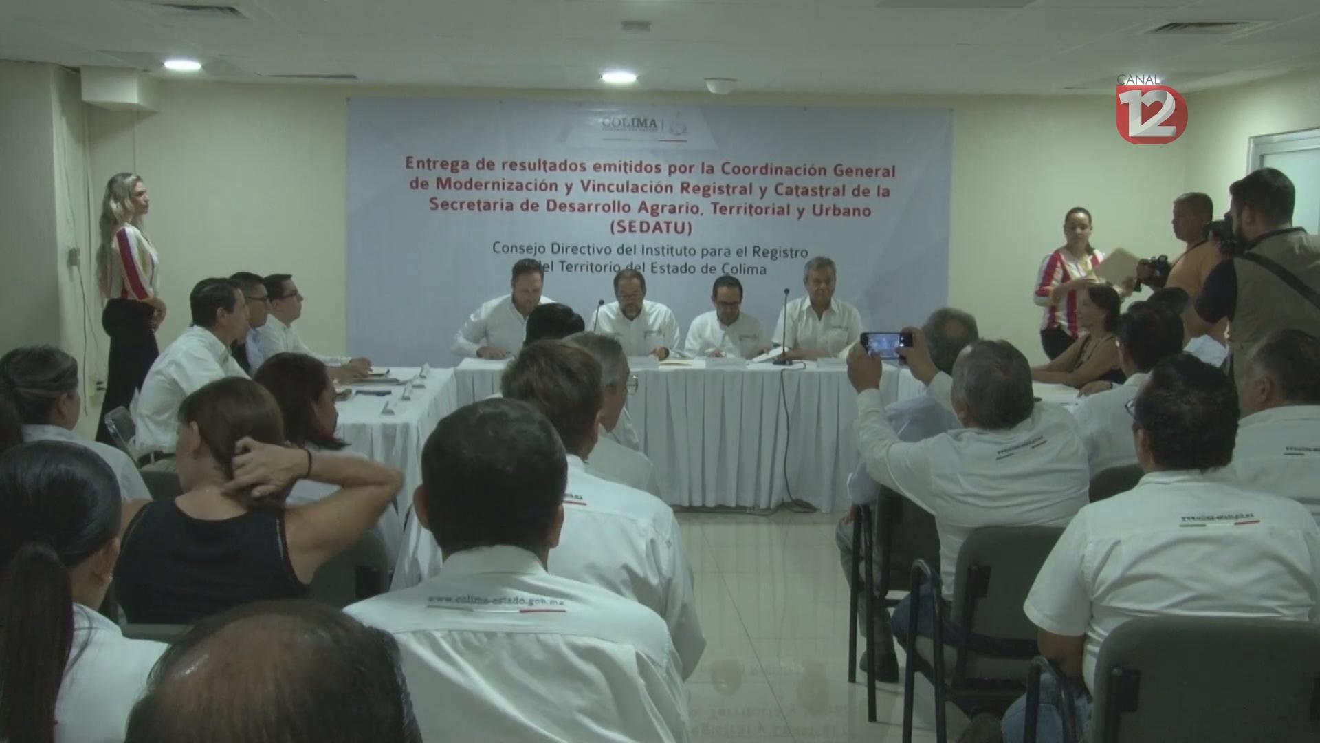 Colima obtiene primer lugar en modernización del Registro Público