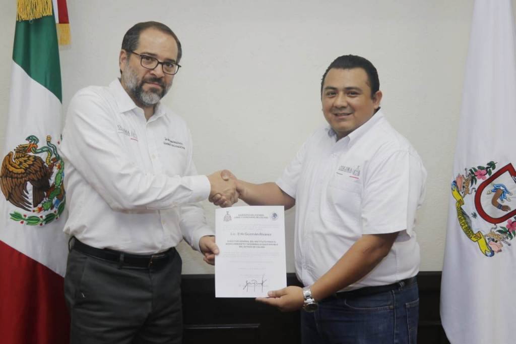 Erik Guzmán nuevo titular del IMADES: JIPS