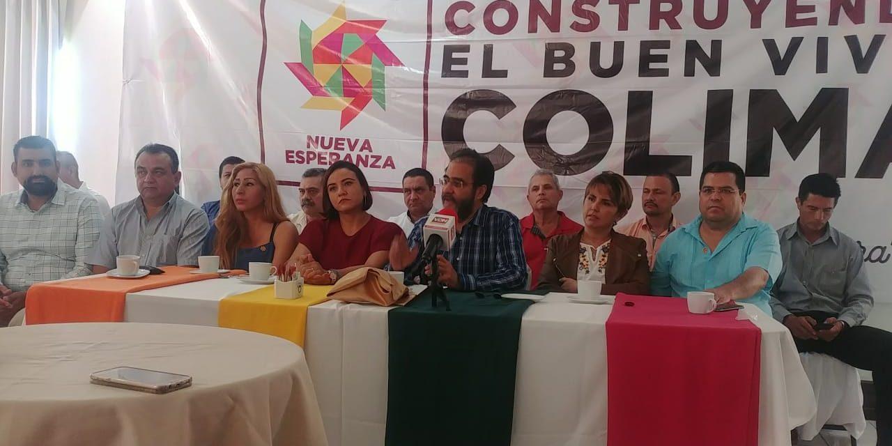 El Movimiento Nacional por la Esperanza no se convertirá en partido político: René Bejarano